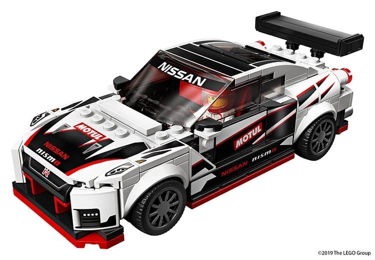 Nissan GT-R built in LEGO bricks